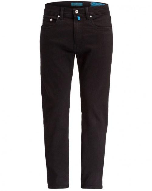 Pierre Cardin jeans til mænd. Lyon. FuturFlex. Sort.