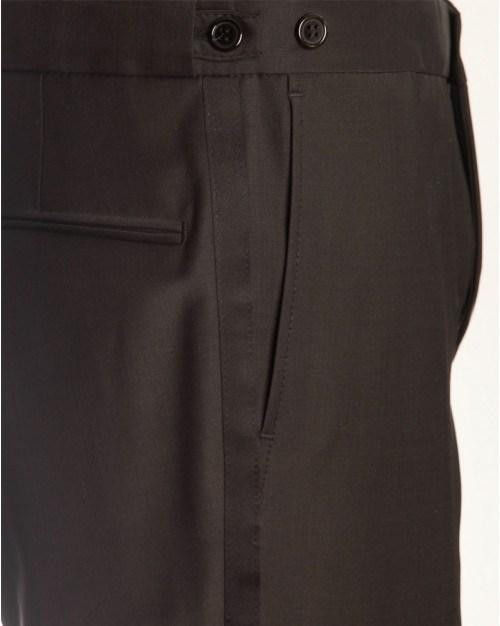 Smoking bukser til mænd. Slim fit. Sort