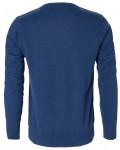 berkeley v-hals pullover blå til mæmd