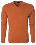 berkeley pullover til mænd v-hals orange