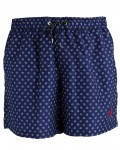 la-martina-bade-shorts til mænd-navy-moenster1