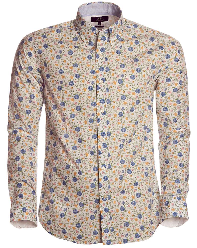 3387a970 La Martina skjorte. Blomst.