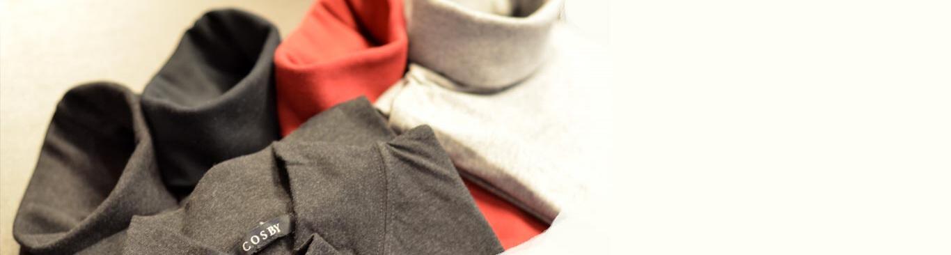 Rullekeave og turtlenecks til mænd