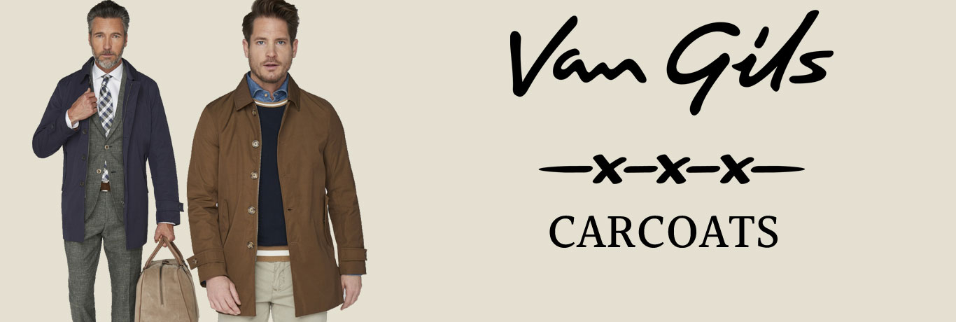 carcoats til mænd fra Van Gils