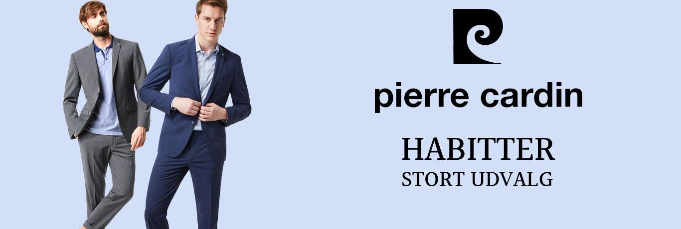 Habitter og jakkesæt til mænd fra Pierre Cardin