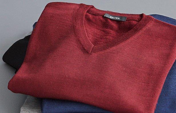 Belika pullover til mænd