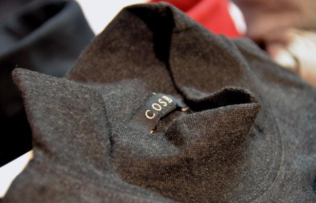 Turtleneck trøje til mænd