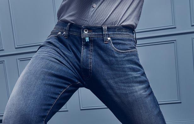 6eb7d0c9 Jeans til mænd køber du hos Jardex.dk. Vi har et bredt sortiment af jeans  til mænd. Pierre Cardin jeans og Roberto Jeans herrekollektioner er  kendetegnede ...
