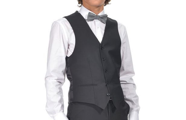 Slimfit herre vest