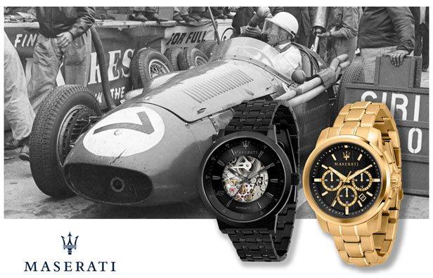 Ure til mænd fra Maserati